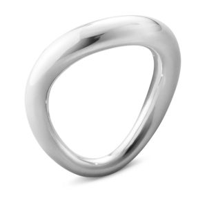 Mestergull Offspring ring i sølv GEORG JENSEN Offspring Ring