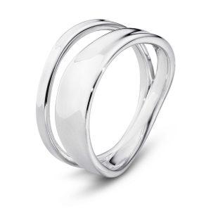 Mestergull Marcia Ring i sølv GEORG JENSEN Marcia Ring