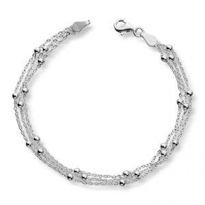 Mestergull Fint sølv armbånd GID Armbånd