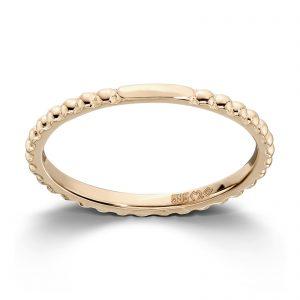 Mestergull Enkel og flott ring i gult gull MESTERGULL Ring