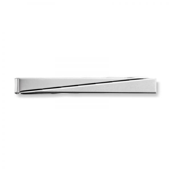 Mestergull Tøff slipsnål i rhodinert sølv MESTERGULL Slipsnål