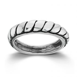 Mestergull Tøff ring i sølv med mønster MESTERGULL Ring