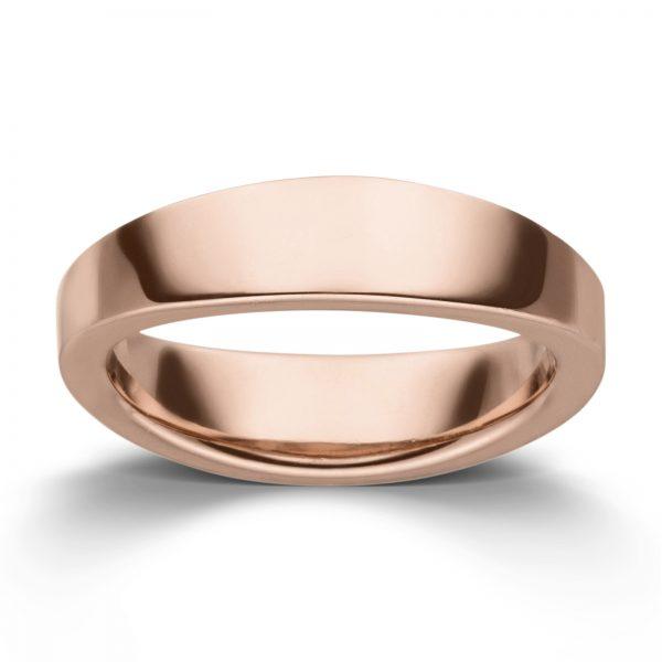 Mestergull Enkel ring i rosè forgylt sølv VIVENTY Ring