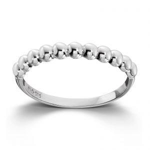 Mestergull Flott ring i hvitt gull MESTERGULL Ring