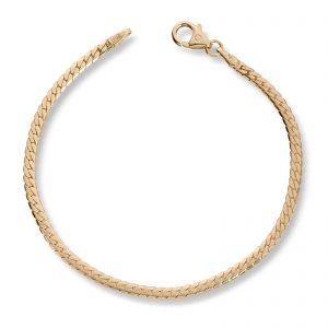 Mestergull Klassisk armbånd i gult gull MESTERGULL Armbånd