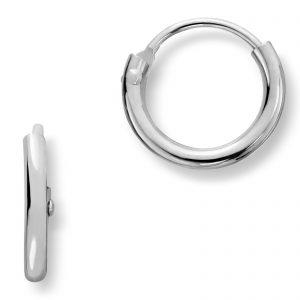 Mestergull Trendy øreringer i sølv MG BASIC Ørepynt
