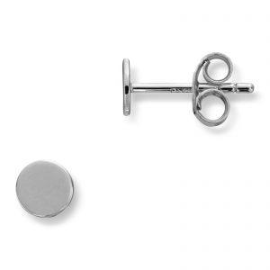 Mestergull Enkel ørepynt i rhodinert sølv MG BASIC Ørepynt