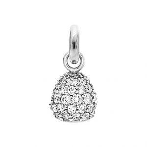 Mestergull Charm Sweet Drops i 18 K Hvitt gull pavért med 66 diamanter totalt 1,98 ct. TwVs LYNGGAARD Sweet Drops Charm