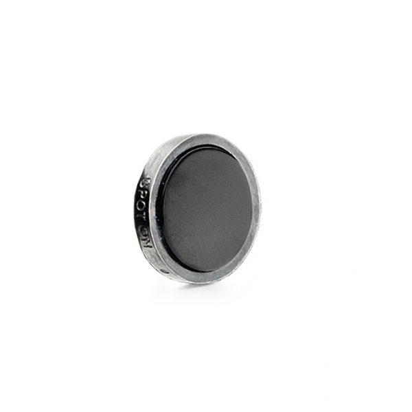 Mestergull Charm Spot On i sølv medonyx plate LYNGGAARD Spot On Charm