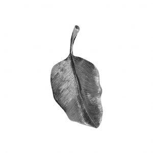 Mestergull Leaves aneng i oksidert sølv 4 cm LYNGGAARD Leaves Anheng