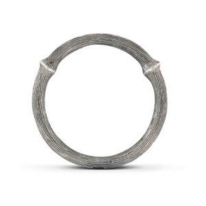 Mestergull Nature Ring nr. 2 i oksidert sølv LYNGGAARD Nature Ring
