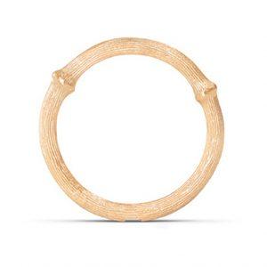 Mestergull Nature Ring nr. 2 i 18 K Gult gull LYNGGAARD Nature Ring