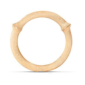 Mestergull Nature Ring nr. 3 i 18 K Gult gull LYNGGAARD Nature Ring