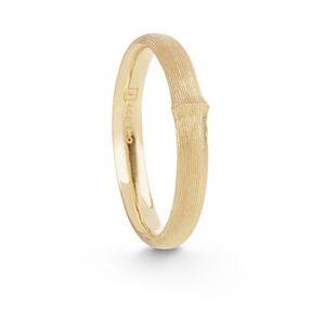 Mestergull Nature ring herre smal i 18 K Gult gull LYNGGAARD Nature Ring