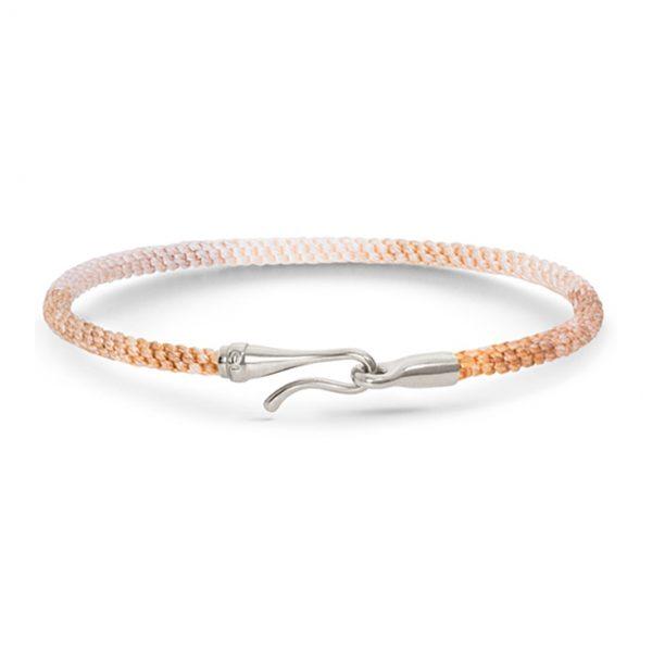 Mestergull Life armbånd med sølvlås Golden Day (15, 16, 17, 18, 19, 20, 21 cm) LYNGGAARD Life Armbånd