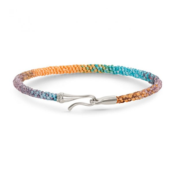 Mestergull Life armbånd med sølvlås i fargen Bohemian Spirit LYNGGAARD Life Armbånd