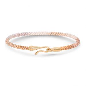 Mestergull Life armbånd med lås i 18 K Gult gull Golden Day (15, 16, 17, 18, 19, 20, 21 cm) LYNGGAARD Life Armbånd