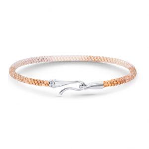 Mestergull Life armbånd med lås i 18 K Hvitt gull Golden Day (15, 16, 17, 18, 19, 20, 21 cm) LYNGGAARD Life Armbånd