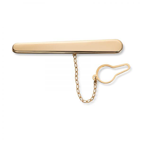 Mestergull Klassisk slipsnål i gull MESTERGULL Slipsnål