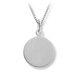Mestergull Enkelt anheng i sølv MESTERGULL Anheng