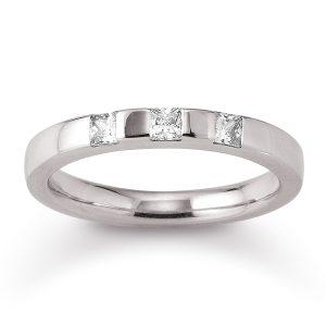 Mestergull Tidløs ring i rhodinert sølv med cubic zirkonia VIVENTY Ring