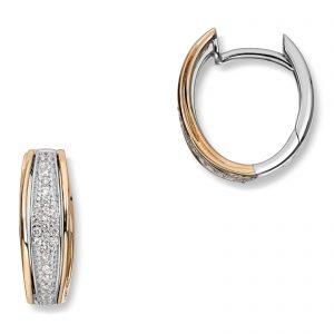 Mestergull Klassiske øreringer med diamanter MG DIAMONDS Ørepynt