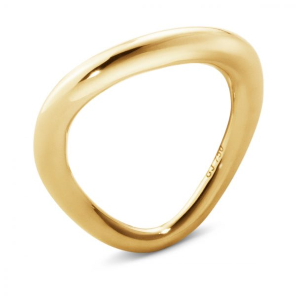 Mestergull Offsspring Ring i gult gull GEORG JENSEN Offspring Ring