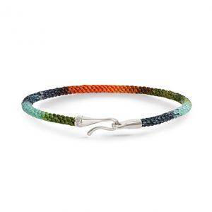 Mestergull Life armbånd med sølvlås i fargen Tropic (15, 17, 18, 19, 20 eller 21 cm) LYNGGAARD Life Armbånd