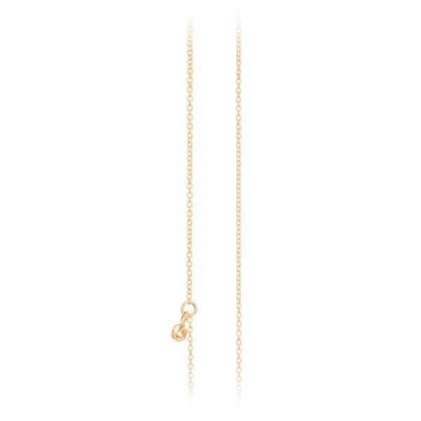 Mestergull Kjede anker i 18kt Gult gull. 90 cm som kan kortes inn til 80 og 60 cm med øsken. LYNGGAARD Kjede