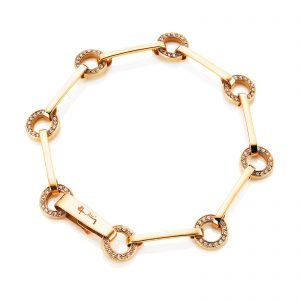Mestergull Won`t you wear my ring around your neck - sparkles just like Elvis sang. - Efva Attling EFVA ATTLING Ring Chain Armbånd