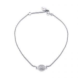 Mestergull Love Beads in 18k gold with diamonds as stars. - Efva Attling EFVA ATTLING Love Bead Armbånd