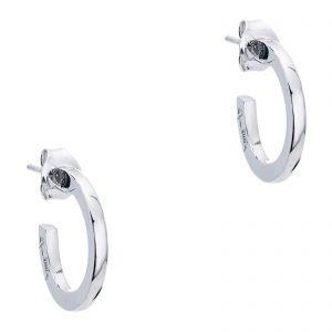 Mestergull Klassiske øreringer i sølv med Efvas signatur EFVA ATTLING Hoops Ørepynt