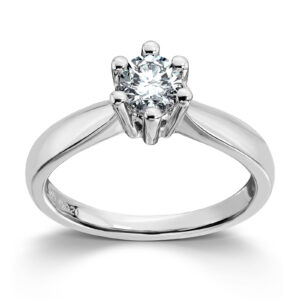 Mestergull Madonna er originalen og enstens klassikeren, velg mellom diamanter i størrelser fra 0,10 ct. til 2,00 ct. MADONNA Ring