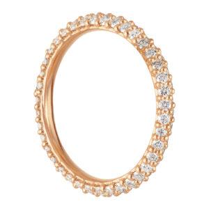 Mestergull Anheng til ørepynt i 18 kt. gult gull med diamanter - medium LYNGGAARD Ørepynt