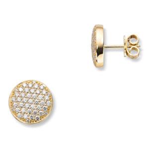 Mestergull Lekker ørepynt i gult gull med diamanter MG DIAMONDS Ørepynt