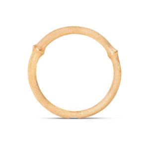 Mestergull Nature Ring nr. 1 i 18 K Gult gull LYNGGAARD Nature Ring