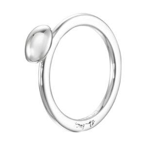 Mestergull Love beads - Liten, enkel og elegant ring i sølv EFVA ATTLING Love Bead Ring