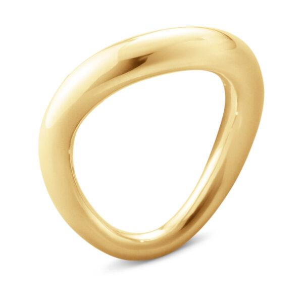 Mestergull Offspring ring i gult gull GEORG JENSEN Offspring Ring