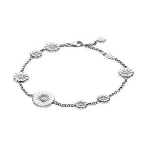 Mestergull Daisy Armbånd i sølv GEORG JENSEN Daisy Armbånd