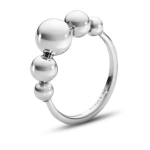 Mestergull Grape Sum Ring i sølv GEORG JENSEN Grape Ring