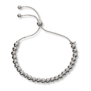 Mestergull Fint armbånd i sølv kuler GID Armbånd
