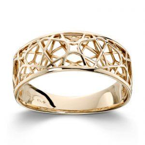 Mestergull Tøff gult gull ring MESTERGULL Ring