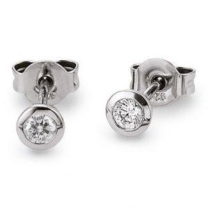 Mestergull Søt ørepynt i rhodinert sølv med cubic zirkonia VIVENTY Ørepynt
