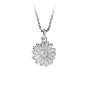 Mestergull Anheng i sølv prestrakrage med hvit emalje PIA & PER Anheng