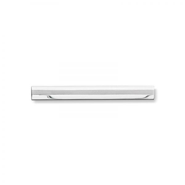 Mestergull Enkel slipsnål i rhodinert sølv MESTERGULL Slipsnål