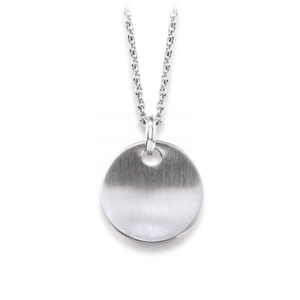 Mestergull Enkelt anheng i rhodinert sølv VIVENTY Anheng