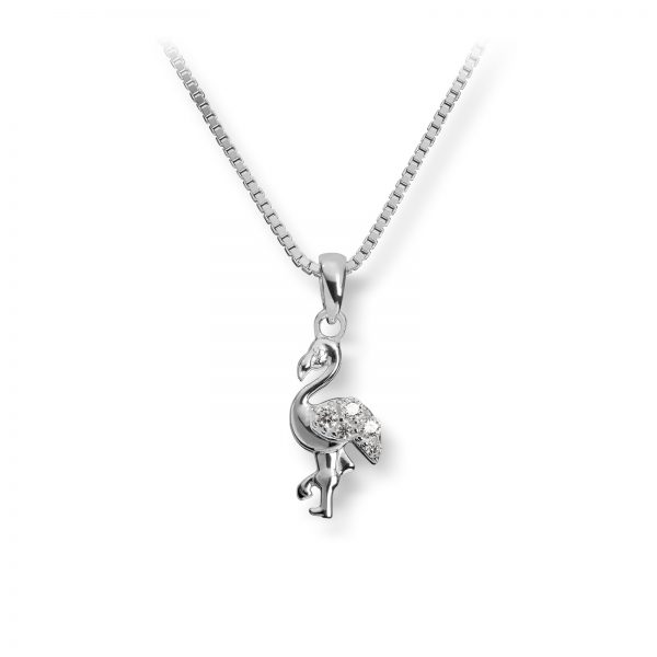 Mestergull Søtt anheng i sølv med cubic zirkonia MG BASIC Anheng