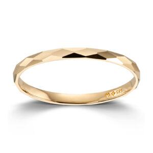 Mestergull Flott ring i gult gull MESTERGULL Ring
