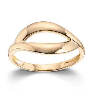Mestergull Enkel ring i gult gull MESTERGULL Ring
