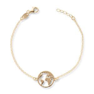 Mestergull Trendy armbånd i forgylt sølv - verdenskart GID Armbånd
